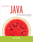 Starting Out with Java: From Control Structures through Objects, 5/e [book cover]