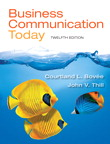 Business Communication Today, 12/e/e