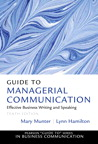 Guide to Managerial Communication, 10/e/e