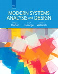 Modern Systems Analysis and Design, 7/e/e