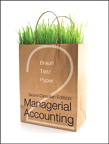Managerial Accounting, Second Canadian Edition, 2/e [book cover]