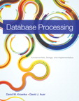 Database Processing: Fundamentals, Design, and Implementation, 13/e/e