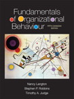 Fundamentals of Organizational Behaviour, Fifth Canadian Edition, 5/e [book cover]