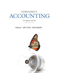 Horngren's Accounting, The Financial Chapters, 10/e/e