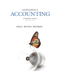 Horngren's Accounting, The Managerial Chapters, 10/e/e