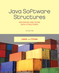 Java Software Structures: Designing and Using Data Structures, 4/e/e