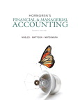 Horngren's Financial & Managerial Accounting, 4/e/e