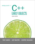 Starting Out with C++: Early Objects, 8/e/e
