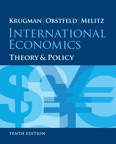 International Economics: Theory and Policy, 10/e/e