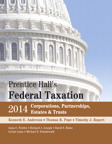 Prentice Hall's Federal Taxation 2014 Corporations, Partnerships, Estates & Trusts, 27/e [book cover]