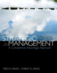 Strategic Management: A Competitive Advantage Approach, Concepts & Cases, 15/e/e