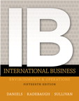 International Business, 15/e [book cover]