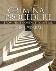 Criminal Procedure: From First Contact to Appeal, 5/e [book cover]