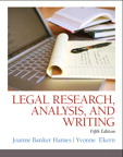 Legal Research, Analysis, and Writing, 5/e/e