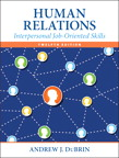 Human Relations: Interpersonal Job-Oriented Skills, 12/e/e