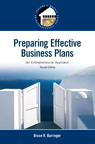 Preparing Effective Business Plans: An Entrepreneurial Approach, 2/e/e