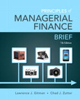 Principles of Managerial Finance, Brief, 7/e/e