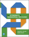 Economics of Managerial Decisions, The, 1/e [book cover]