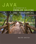 Java: An Introduction to Problem Solving and Programming, 7/e/e