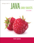 Starting Out with Java: Early Objects, 5/e/e