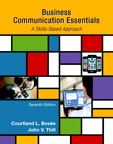 Business Communication Essentials, 7/e/e