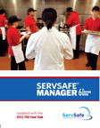 ServSafe Manager with Answer Sheet, Revised, 6/e [book cover]