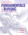 Kozier & Erb's Fundamentals of Nursing, 10/e [book cover]
