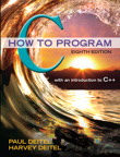 C How to Program, 8/e [book cover]
