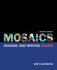 Mosaics: Reading and Writing Essays, 7/e [book cover]