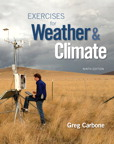 Exercises for Weather & Climate, 9/e [book cover]