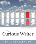 Curious Writer, Brief Edition, The, 5/e [book cover]