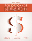 Foundations of Finance, 9/e [book cover]