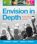 Envision in Depth: Reading, Writing, and Researching Arguments, 4/e [book cover]
