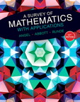 A Survey of Mathematics with Applications, 10/e [book cover]