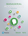 Managerial Accounting, 5/e [book cover]