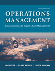 Operations Management: Sustainability and Supply Chain Management, 12/e [book cover]