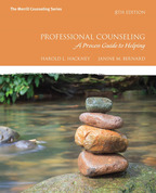 Professional Counseling: A Process Guide to Helping, 8/e [book cover]