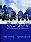 Strategic Management: A Competitive Advantage Approach, Concepts and Cases, 16/e [book cover]