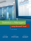 Statistics for Managers Using Microsoft Excel, 8/e [book cover]