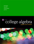 College Algebra: Graphs and Models, 6/e [book cover]