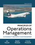 Principles of Operations Management: Sustainability and Supply Chain Management, 10/e [book cover]