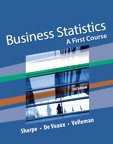 Business Statistics: A First Course, 3/e [book cover]
