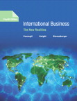 International Business: The New Realities, 4/e [book cover]