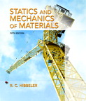 Statics and Mechanics of Materials, 5/e [book cover]