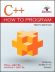C++ How to Program, 10/e [book cover]
