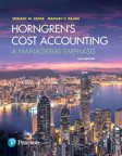Horngren's Cost Accounting: A Managerial Emphasis, 16/e [book cover]