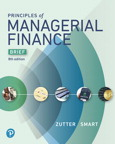 Principles of Managerial Finance, Brief, 8/e [book cover]