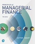 Principles of Managerial Finance, 15/e [book cover]