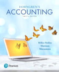 Horngren's Accounting, 12/e [book cover]