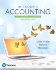 Horngren's Accounting: The Managerial Chapters, 12/e [book cover]